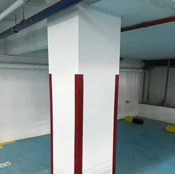 Completed Concrete Repair