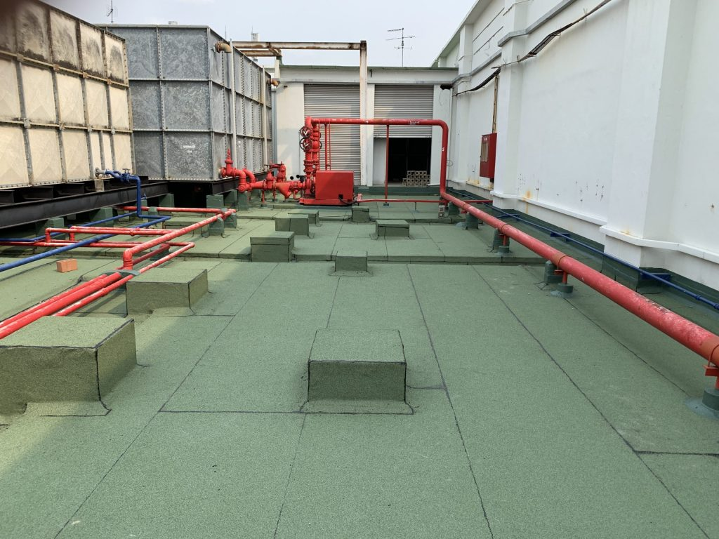 Concrete Roof Waterproofing - After