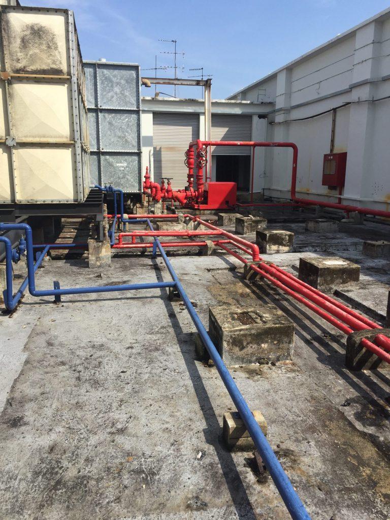 Concrete Roof Waterproofing - Before